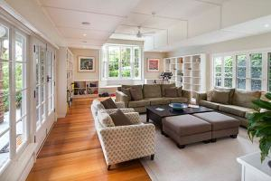 Family room renovation by Amanda Richmond