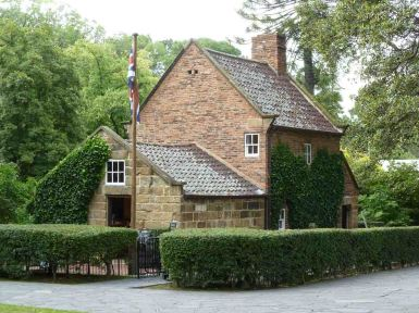 Cook's Cottage, Fitzroy Gardens, Melbourne