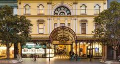 The Royal Arcade, Melbourne - front