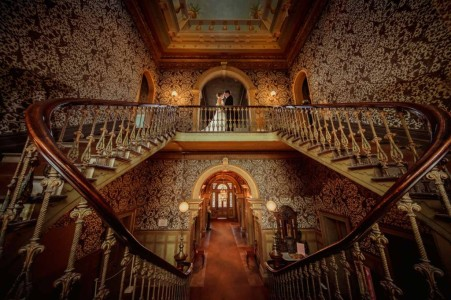 Grand Stairway at Labassa Mansion