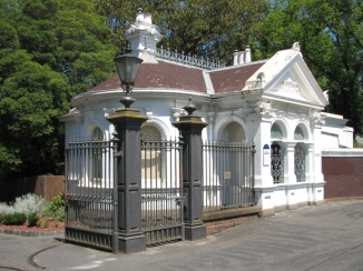 Gatehouse to Stonnington Mansion