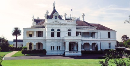 Beautiful Heritage Architecture Stonnington Mansion