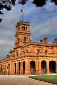 WerribeeMansionVeranda