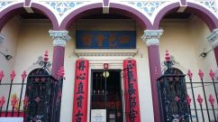 Entrance to Heritage listed See Yup Temple in South Melbourne