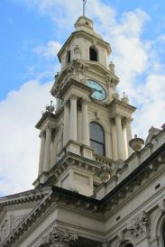 Tower of historic South Melbourne Town Hall