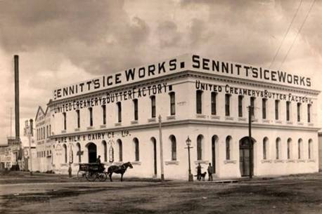 Sennitt's Ice Works aka Sennitt's Icecream, South Melbourne