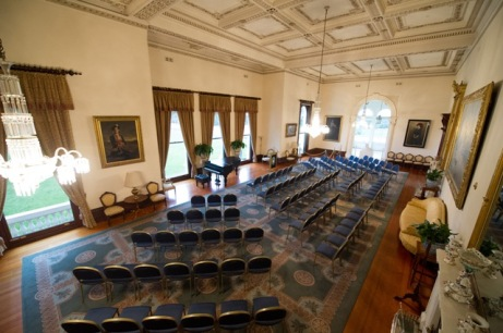 State Drawing Room set up for function GBlue
