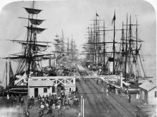 Port Geelong with Tall Ships