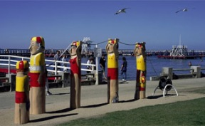 Geelong Baywalk Bollards