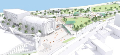 Plans for St Kilda Triangle