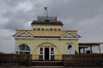 Rebuilt St Kilda Kiosk