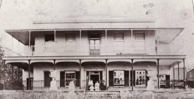 Como House in 1863