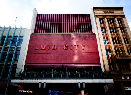 City of Melbourne council has earmarked the Hoyts Mid City building on Bourke St for heritage protection.