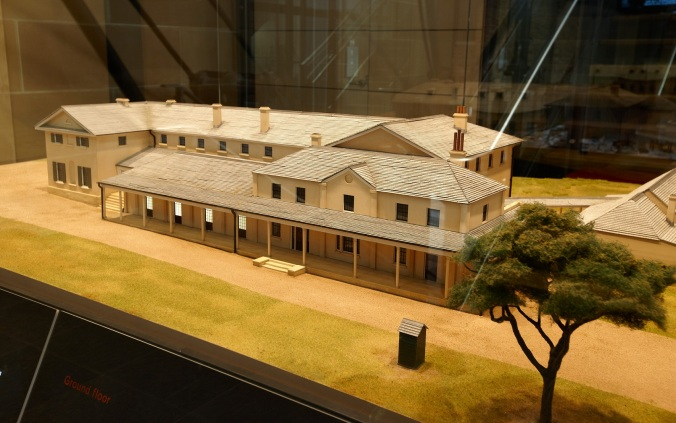 First Government House model installation view