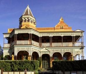 Historic Queenscliff Hotel, Queenscliff, Port Phillip Bay, Victoria, Australia