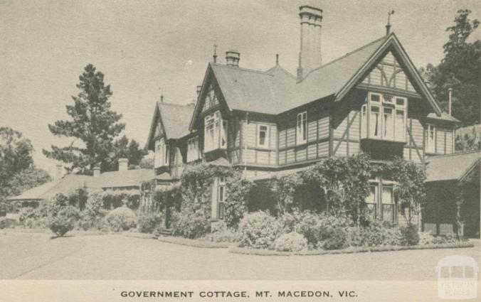 Government Cottage, Mount Macedon, 1949 | Victorian Places