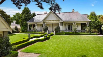 The Toorak mansion bought for $18.5 million and razed. The empty block is now on the market for $40 million